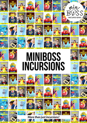 miniboss booklet cover page